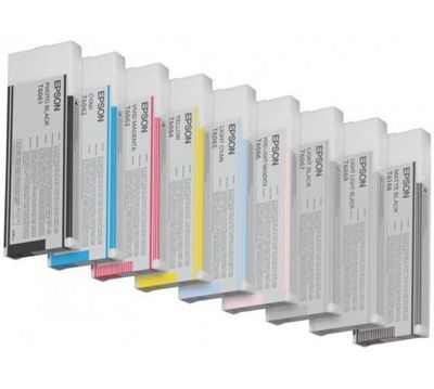 Epson T606B Ink Cartridge for 4800 (200ml)