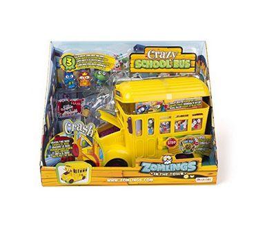 Zomlings Series 5 Crazy School Bus