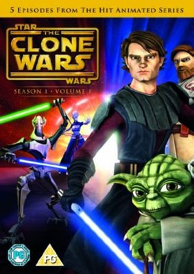 Star Wars Clones Wars: Season 1 Volume 1