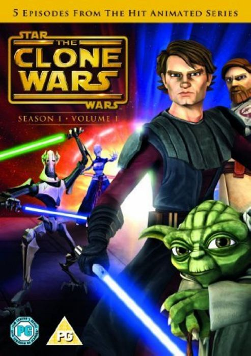 Star Wars Clones Wars: Season 1 Volume 1