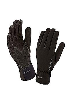 Sealskinz Ladies Sea Leopard Glove - Black