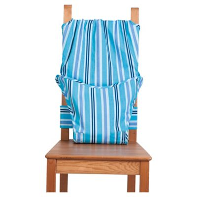 Totseat Chair Harness Highchair, Seaside Blue