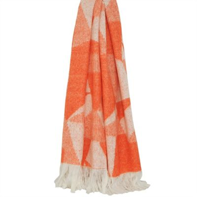 Riva Home Shard Terracotta Throw - 127x180cm