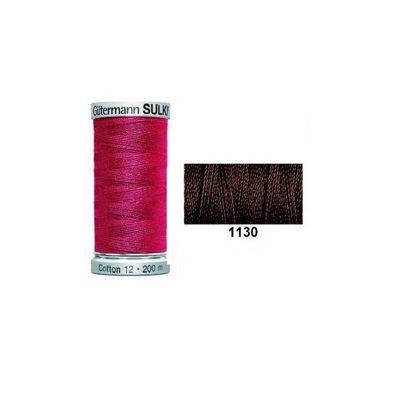 Gutermann Sulky Cotton 200m Dark Brown