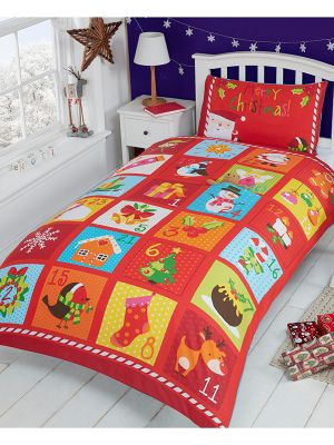 Rapport Advent Christmas Duvet Cover Set - Single