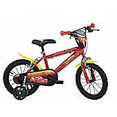 Disney Pixar Cars 14inch Balance Bike Red - DINO Bikes