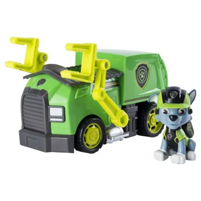 Paw Patrol 6037969 Paw Vehicle - Rocky'S Mission Recycling Truck
