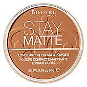 Rimmel Stay Matte Long Lasting Pressed Powder 14g 040 Honey