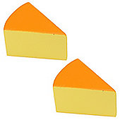 Bigjigs Toys Cheese (Pack of 2)