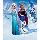 "Walltastic Disney Frozen Wallpaper 8ft x 6ft 6"" Mural"
