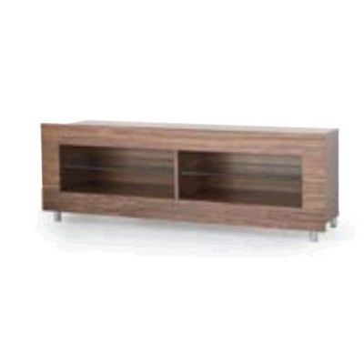 RGE Frame 2 Shelves Multi-Media TV Storage and Display Unit - Veneer Oak