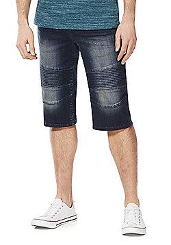 F&F Denim Biker Shorts - Indigo