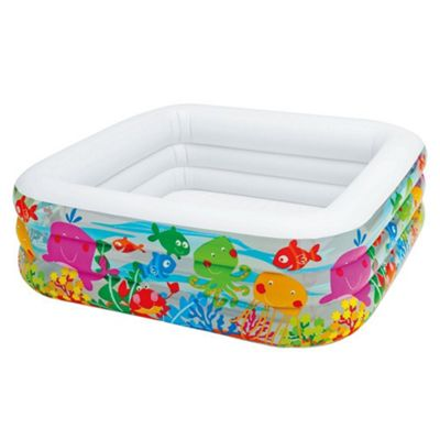 Intex Clearview Aquarium Pool With Animal Print