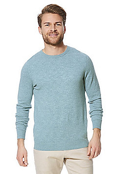 F&F Marl Crew Neck Jumper - Mint