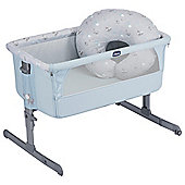 Chicco Next2Me Special Edition Side-Sleeping Crib (Sky)