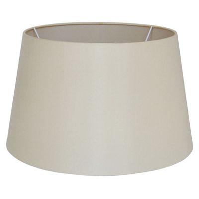 Almond Tapered Silk Lamp Shade 40cm