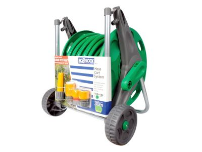 Hozelock 2498 Hose Cart + 30M M/Purpose Hose