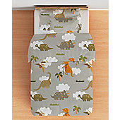 Jurassic Cotbed Junior Duvet Cover Set with Pillowcase
