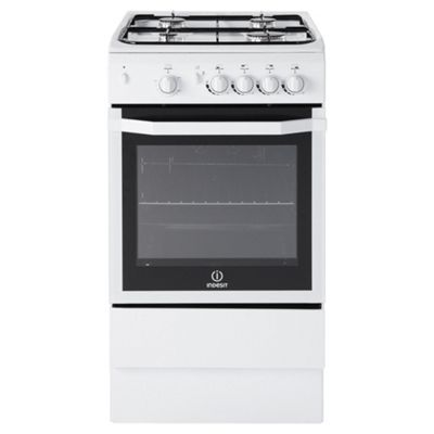 indesit gas cooker with gas grill and gas hob i5ggwuk