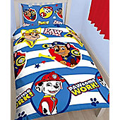 Paw Patrol Pawsome Single Duvet Cover and Pillowcase Set