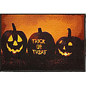 Halloween Decoration Trick or Treat Door Mat