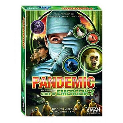 Z-Man Games Pandemic State of Emergency Board Game