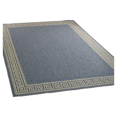 Home Essence Florence Lorenzo Blue Contemporary Rug - 290cm x 200cm (9 ft 6 in x 6 ft 6.5 in)