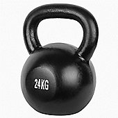 Confidence 2 X 24Kg Cast Iron Kettlebell For Full Body Workout/Training