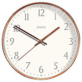 Jones & Co Copper Wall Clock