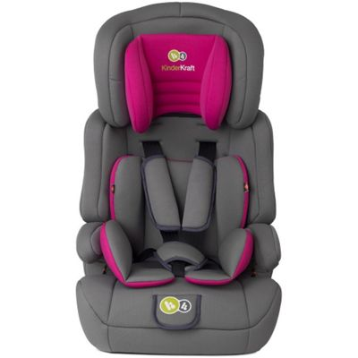 KinderKraft Comfort Up Group Group 1,2,3 Car Seat (Pink)