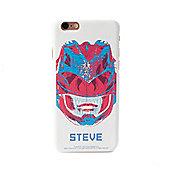 Power Rangers Movie Personalised iPhone 6 case - Red Ranger