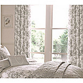 Dreams n Drapes Malton Slate Lined Curtains - 168x183cm