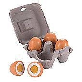 ELC Box of Wooden Eggs