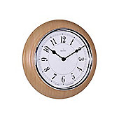 Acctim 24581 Newton Wall Clock Lt Wood(24170)