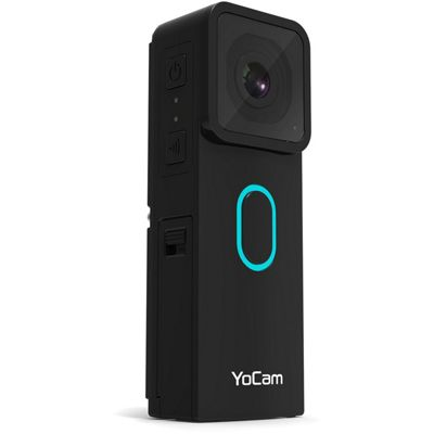 Mofily YoCam Mini Waterproof WiFi Bluetooth Hi Res Action Camera - Black