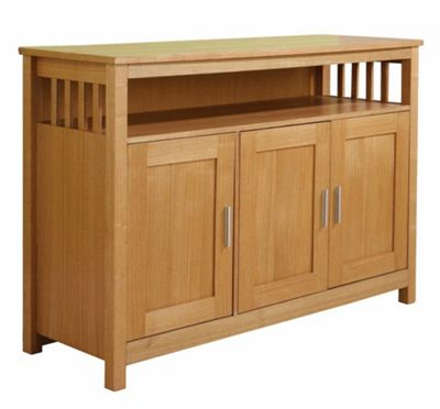 Elements Ashford 3 Door Sideboard - Walnut