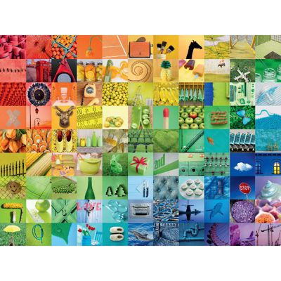 99 Beautiful Colours - 1500pc Puzzle