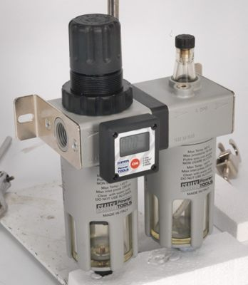 Sealey SA406 - Professional Air Filter/Regulator/Lubricator with Digital Gauge 1/2inchBSP