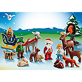 Playmobil 1.2.3 Advent Calendar Christmas in the Forest - Dolls and Playsets
