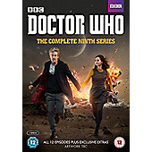 Doctor Who The Complete Series 9 (includes Xmas Special 2014 + Xmas Special 2015) DVD