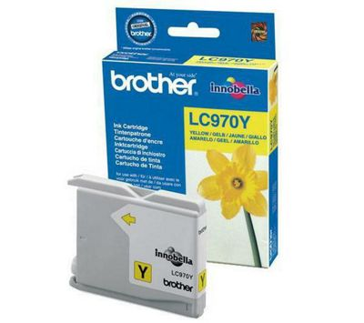 Brother LC970Y printer Ink Cartridge - Yellow