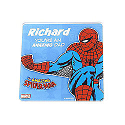 Marvel Personalised Father's Day Spiderman Coaster