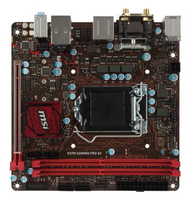 MSI H270I GAMING PRO AC Motherboard