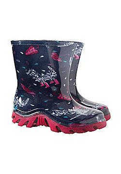Mountain Warehouse Splash Junior Wellies - Pink