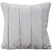 Riva Home Empress Grey Soft Cushion Cover - 45x45cm