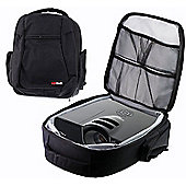 Navitech Protective Portable Projector Carrying Case and Travel Bag for the Epson EHTW6600 Home Cinema Projector