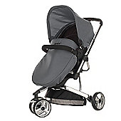 Obaby Chase with Mosquito Net Pram - Cottage Rose