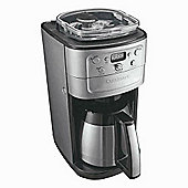 Cuisinart Grind & Brew Plus Coffee Machine, DGB900 - Silver