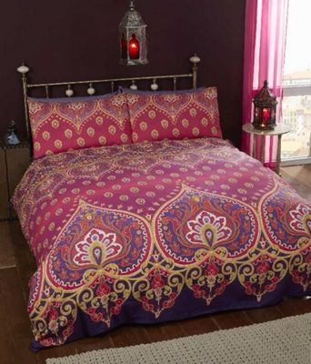 Asha Ruby - Duvet Cover Set - Double