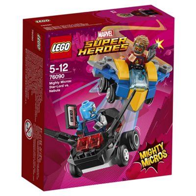 LEGO Mighty Micro Star Lord vs Nebula 76090